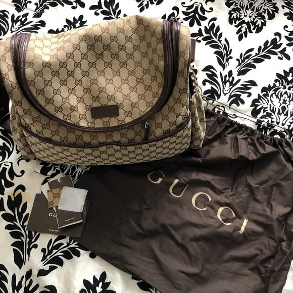 Gucci Handbags - Gucci diaper bag